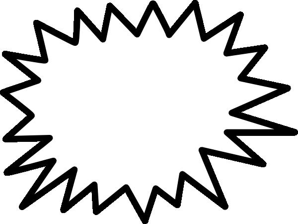 600x450 Similiar Starburst Shape Clip Art Keywords