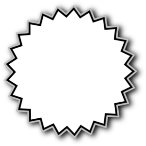 300x300 Starburst Outline Baseline Clip Art
