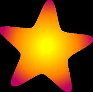 299x294 Glowing Star Clip Art