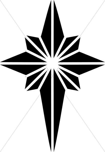 421x612 Epiphany Star Clip Art