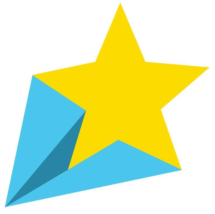 736x733 Falling Stars Clipart Bright Star