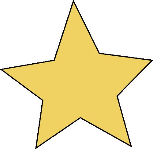 500x487 Yellow Star Clip Art
