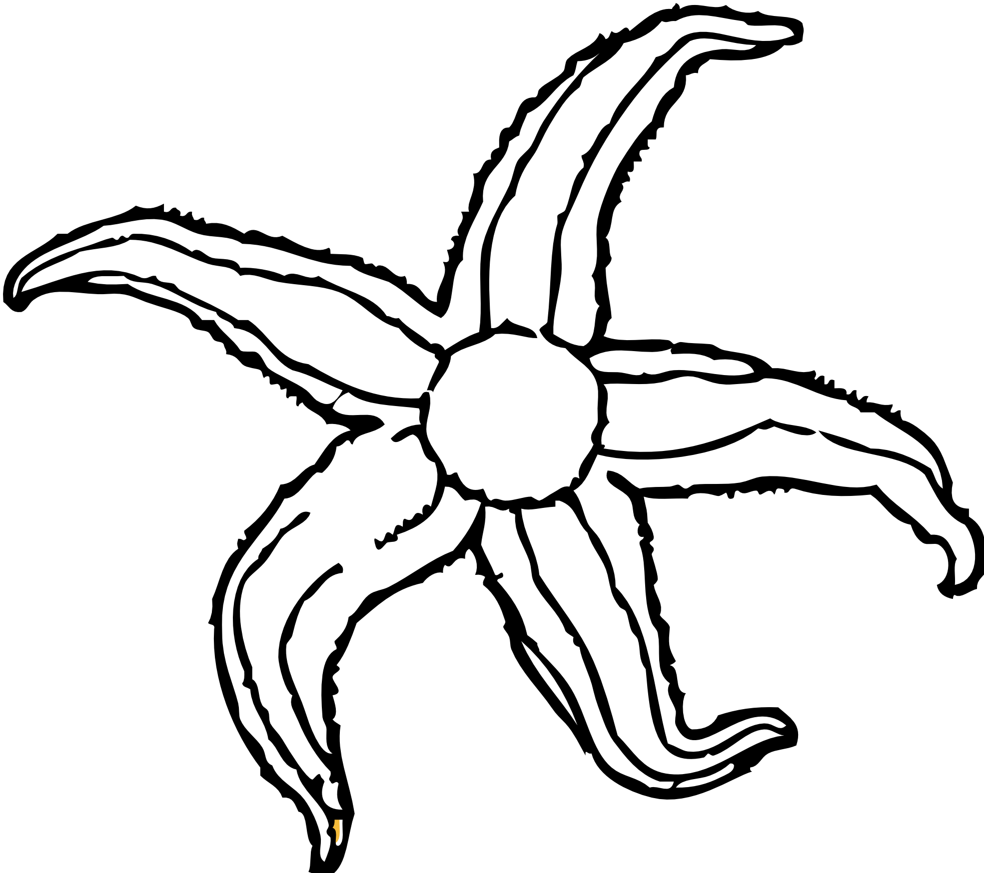 1969x1748 Seahorse Clipart Black And White Clipart Panda