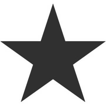 360x360 Stars Clipart Little Black