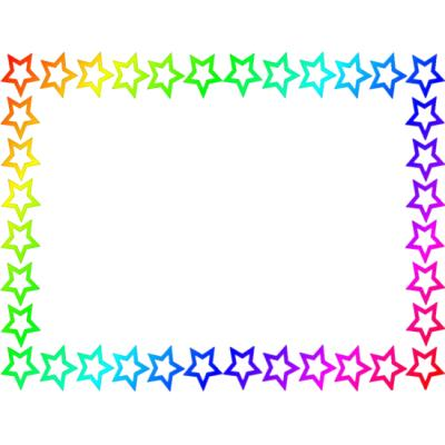 400x400 Border Clipart Star