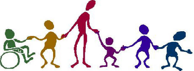 654x241 People Border Clipart