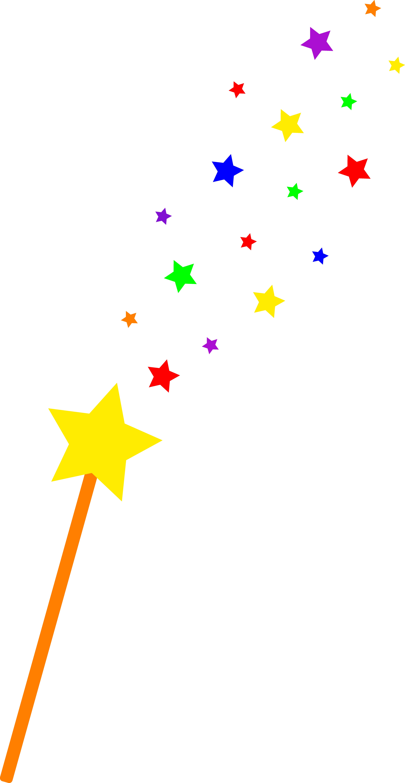 5562x10747 Star Clipart Magic Wand