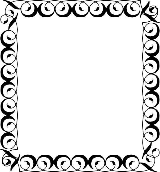 552x596 Star Border Clip Art Item 4 Clipart Panda