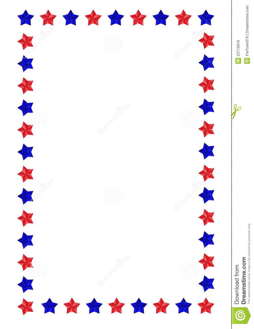 1003x1300 American Flag Border Clipart