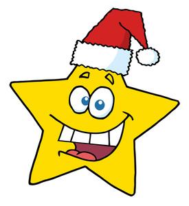 275x300 Free Christmas Clip Art Image Christmas Star Image