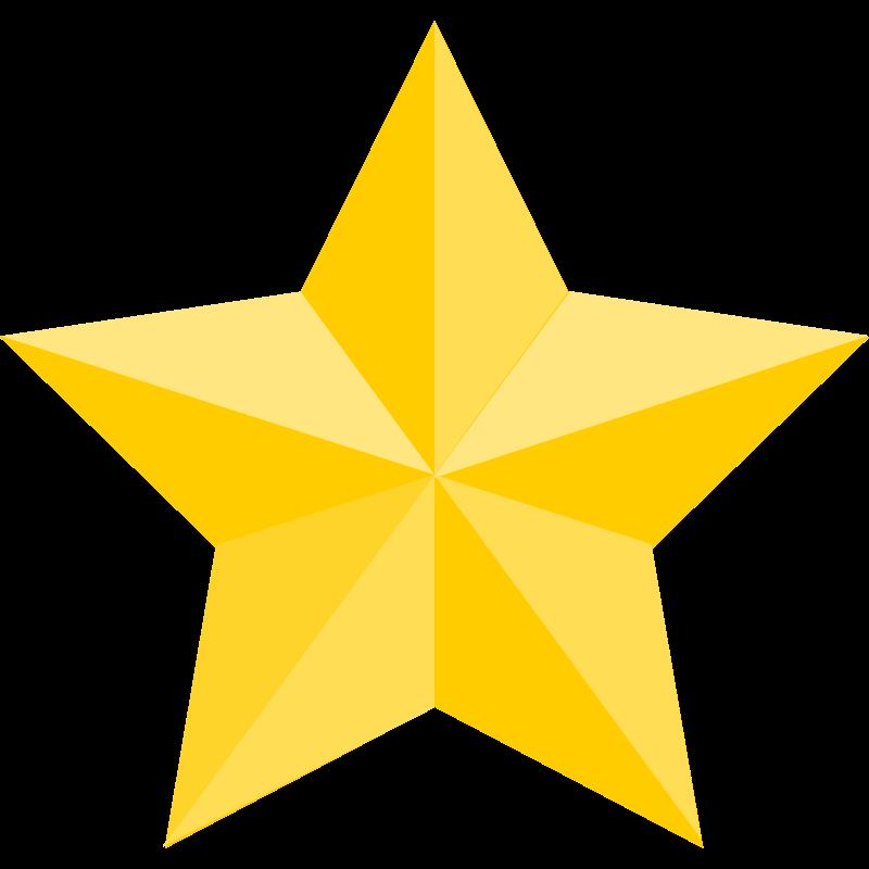 800x800 Yellow Stars Clipart