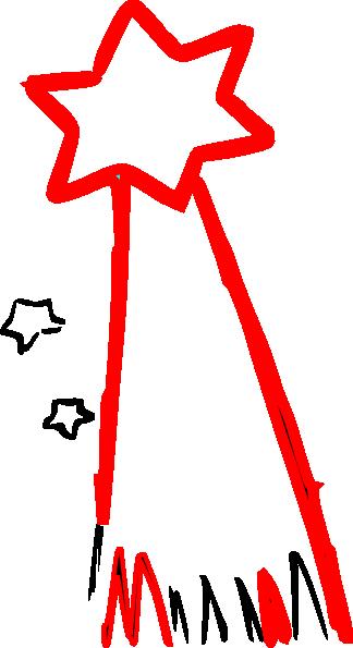 324x595 Shooting Star Clip Art