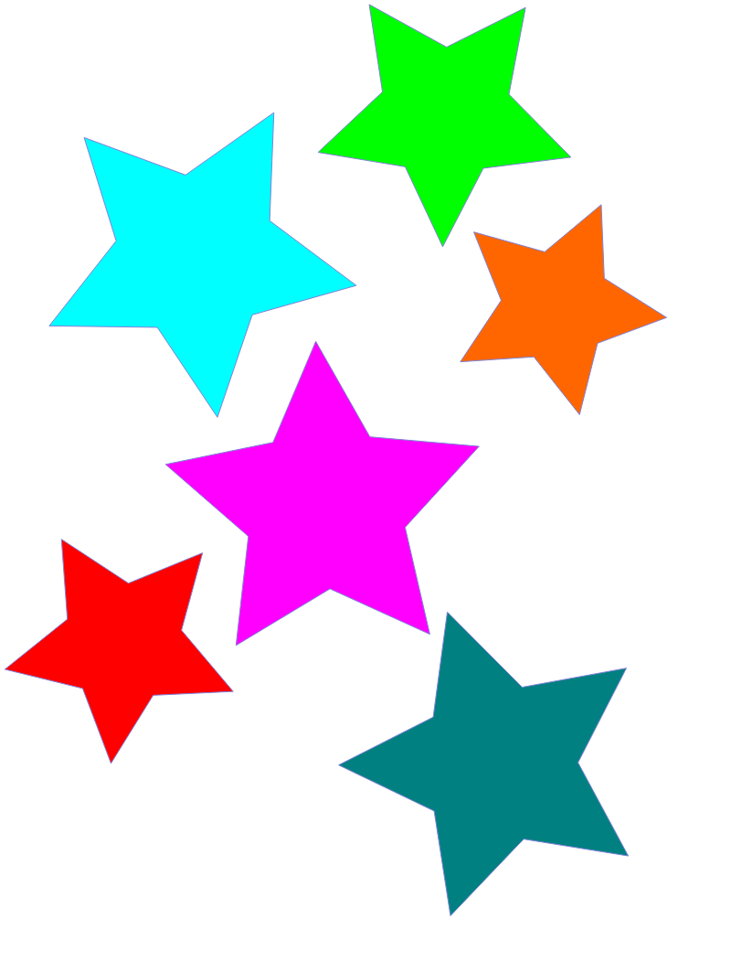 800x1052 Stars Star Clip Art Free Download Clipart Images