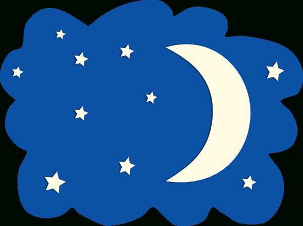 600x447 Moon Stars Clip Art Free Clipart Free Download On Moon