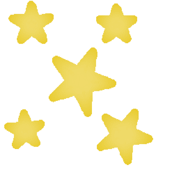 600x600 Stars Clip Art Free Vector 4vector