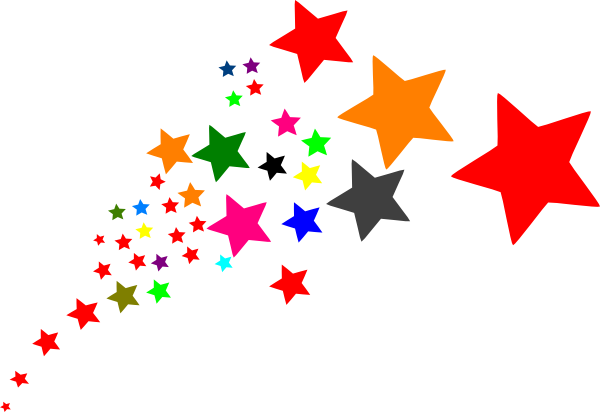 600x412 Stars Clipart Clear Background