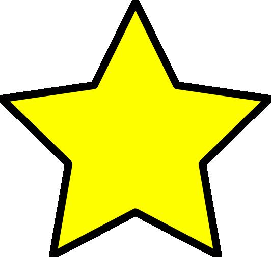 532x506 Stars Clipart Transparent Background
