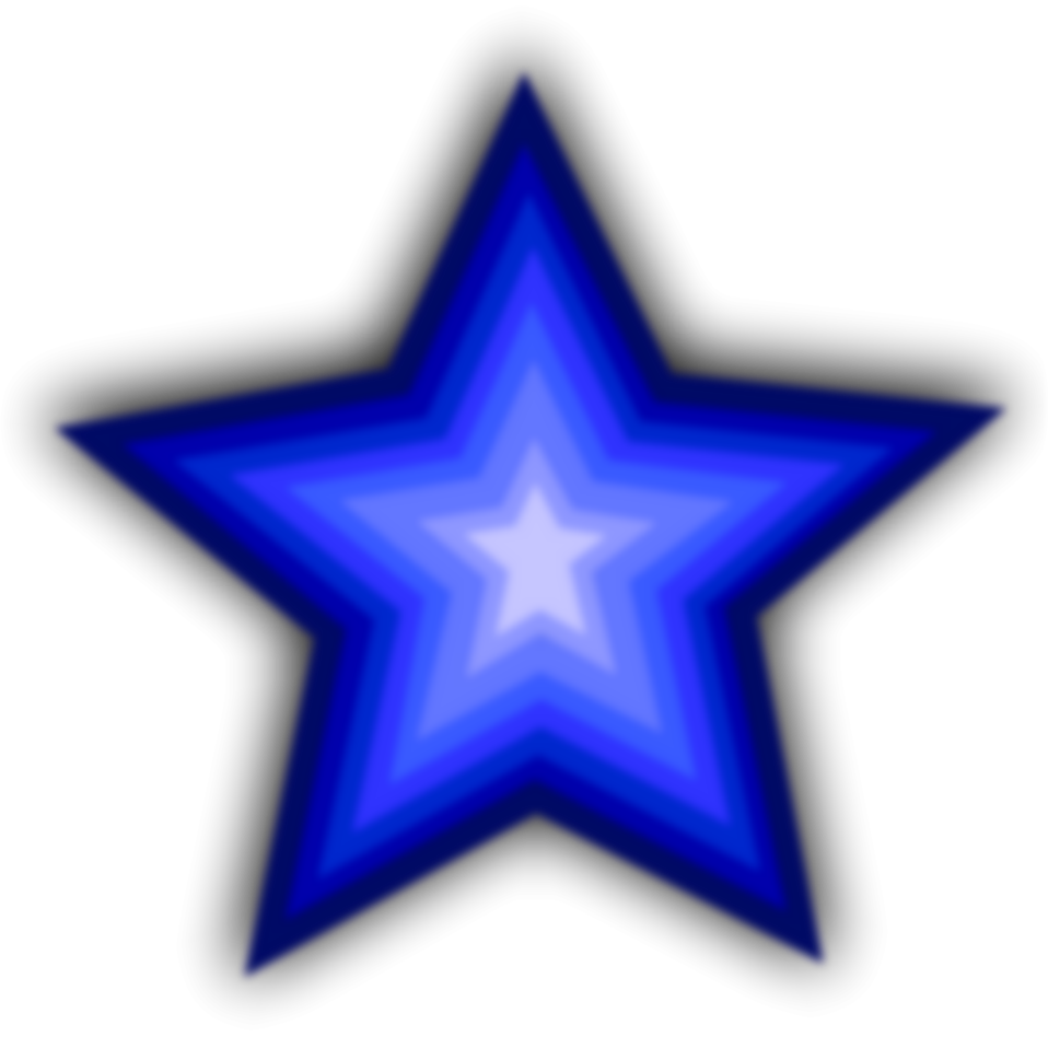 958x958 Blue Star Flag Clip Art