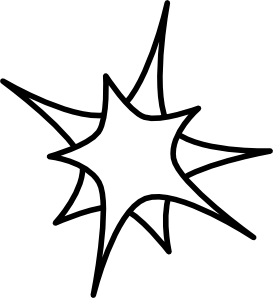 273x298 Double Star Png, Svg Clip Art For Web