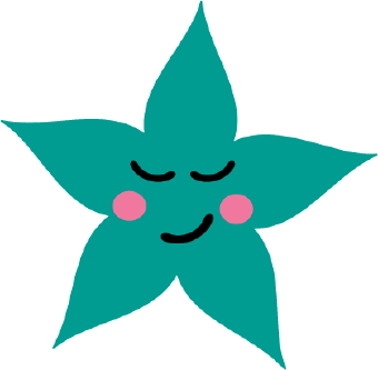 340x333 Sleeping Star Clip Art