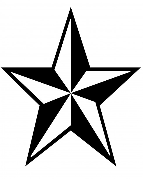 491x615 Star Clip Art Free Stock Photo