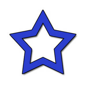300x300 Blue Star Clipart Many Interesting Cliparts