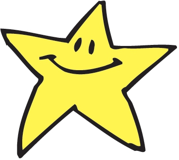354x317 Gold Star Clip Art