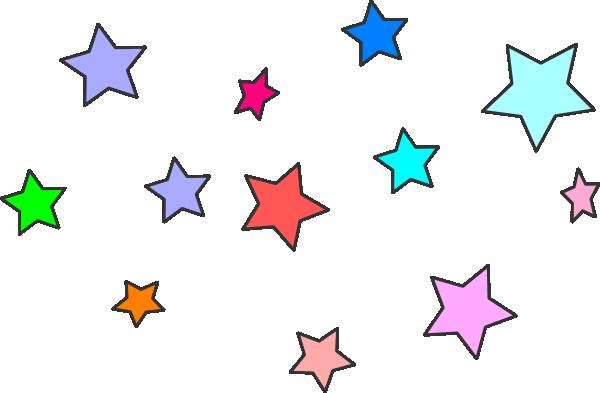 600x393 Falling Stars Clipart Small Star