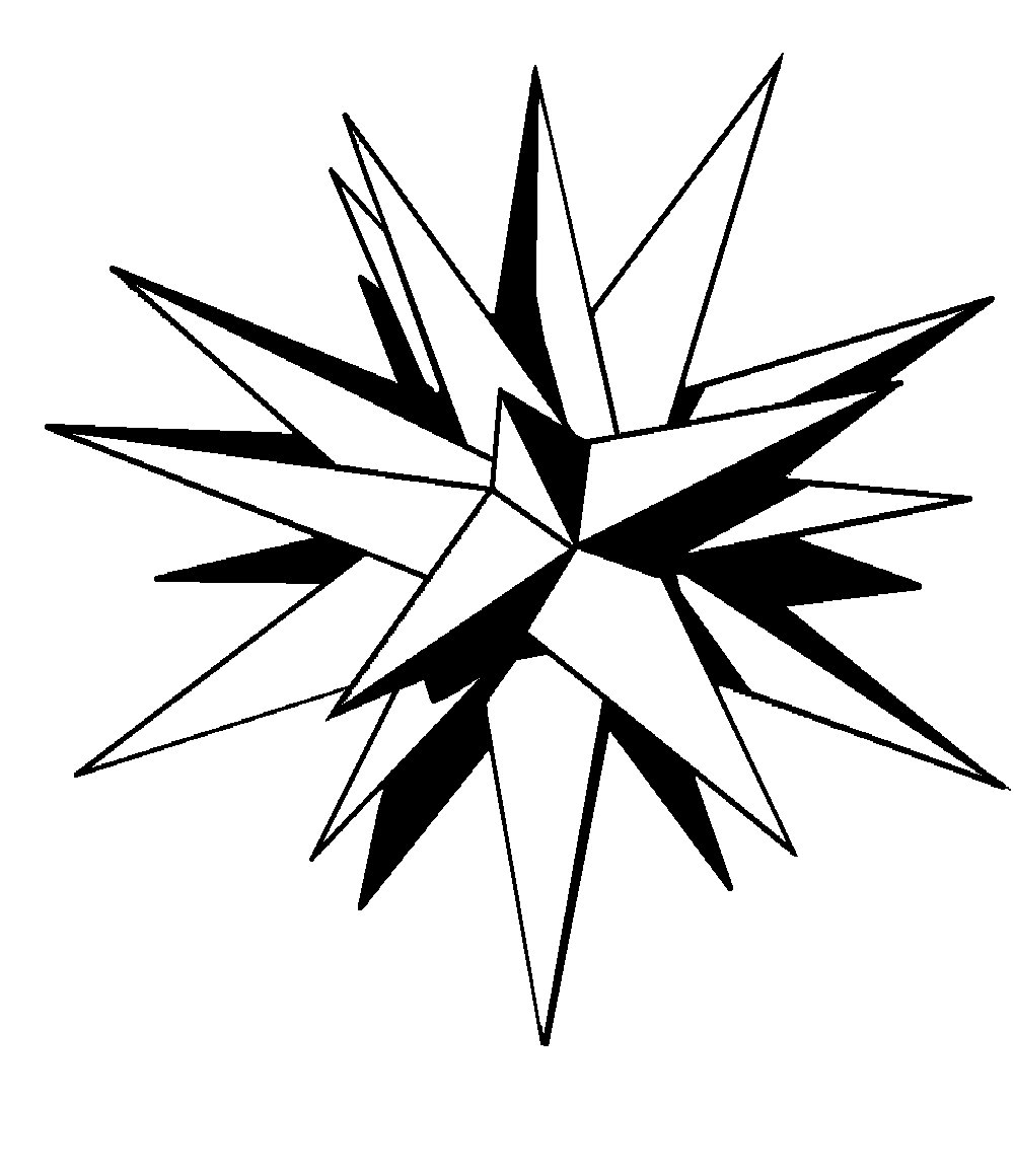 1000x1160 Moravian Christmas Star Clipart