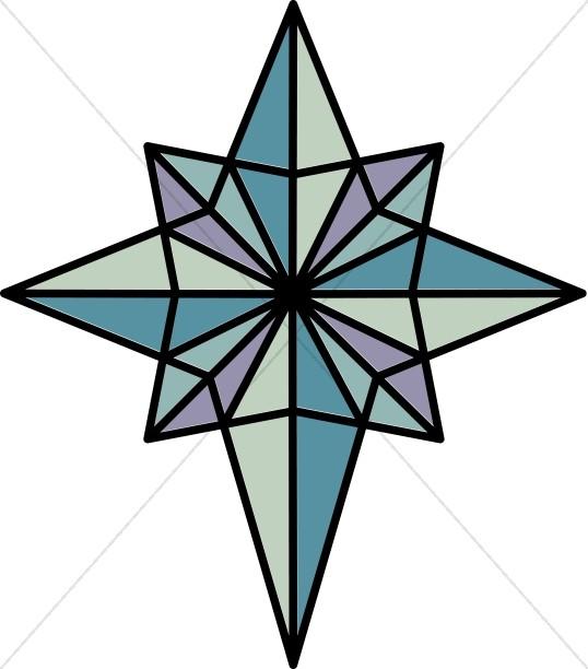 538x612 Nighttime Star Of Bethlehem Epiphany Clipart
