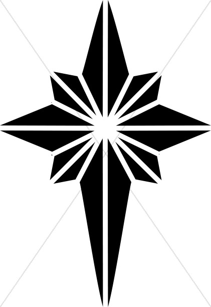 421x612 North Star Clip Art