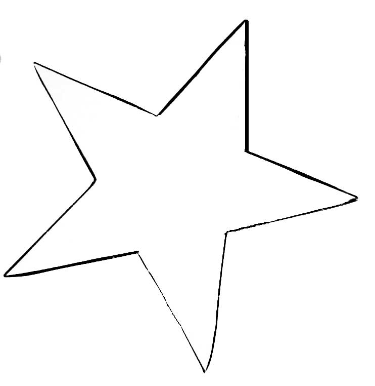 Star Outline Printable   Free download on ClipArtMag
