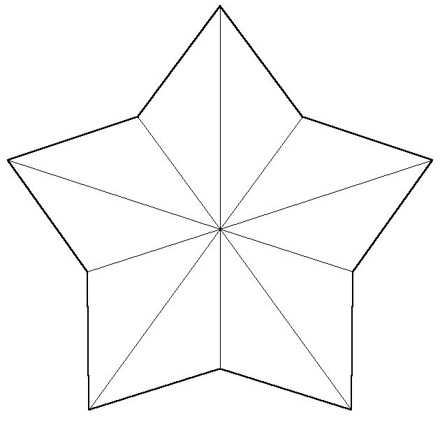 This is an image of Printable Stars Shapes in number