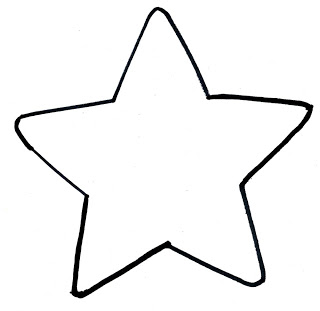 image about Printable Star Template titled Star Determine Printable Absolutely free obtain suitable Star Define