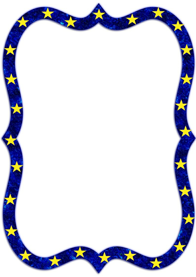 star page border clipart free download best star page border