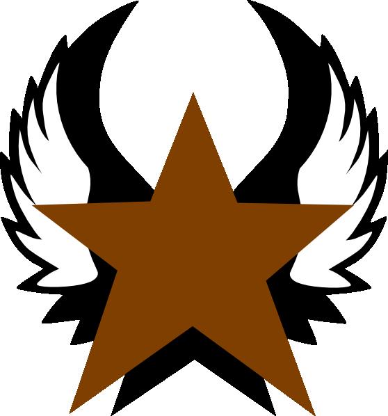 558x598 Gold Star Clip Art