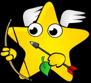 299x273 Shooting Star Clipart Line Art