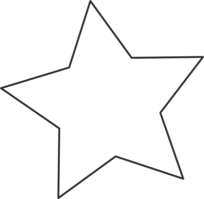 299x291 Star Clipart Black And White