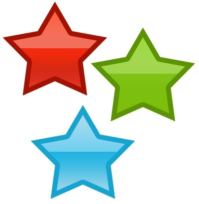 400x410 Clip Art Red Star