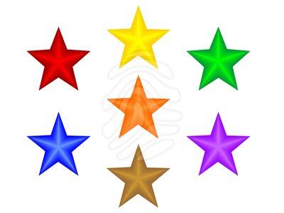 400x300 Clip Art Stars