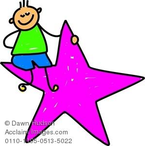 299x300 Little Girl Clipart Star Student
