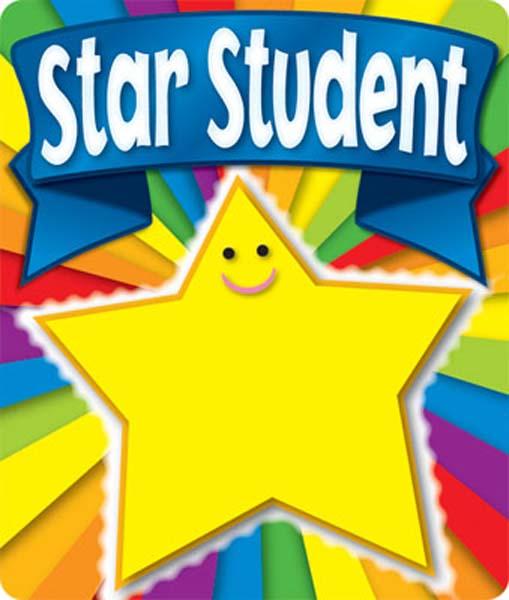 509x600 Star Student Clipart