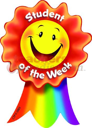 350x489 Star Student Of The Week Clip Art