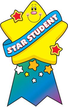 229x360 Star Of The Month Clipart