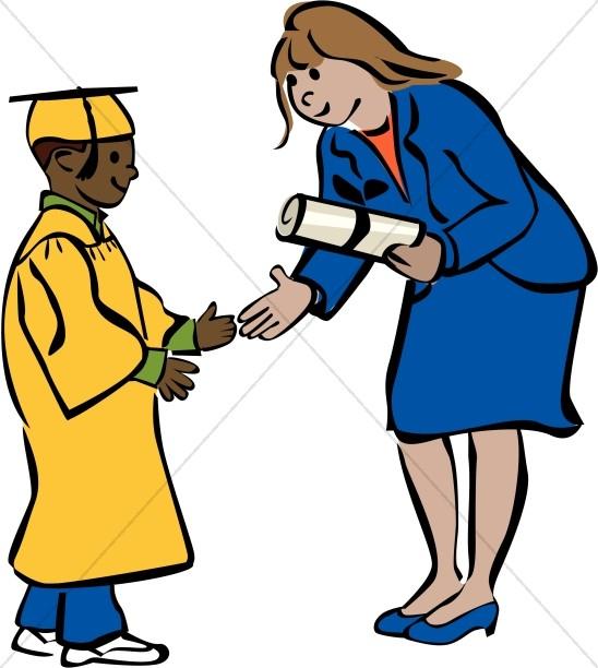 548x612 Ceremony Clipart Graduate Student