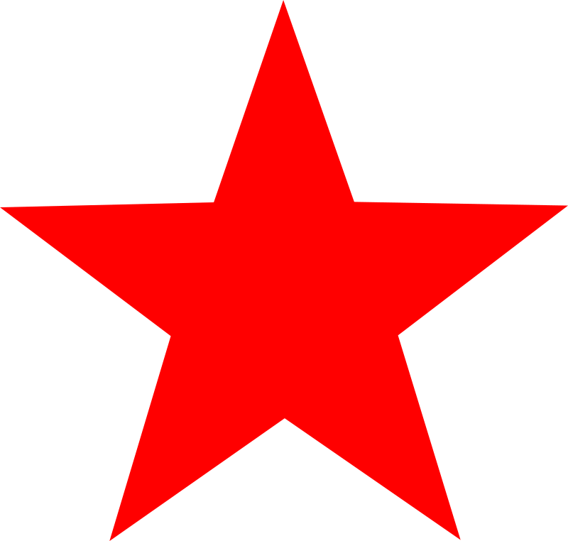 800x762 Red Star Images Clip Art, Free Red Star Images Clip Art