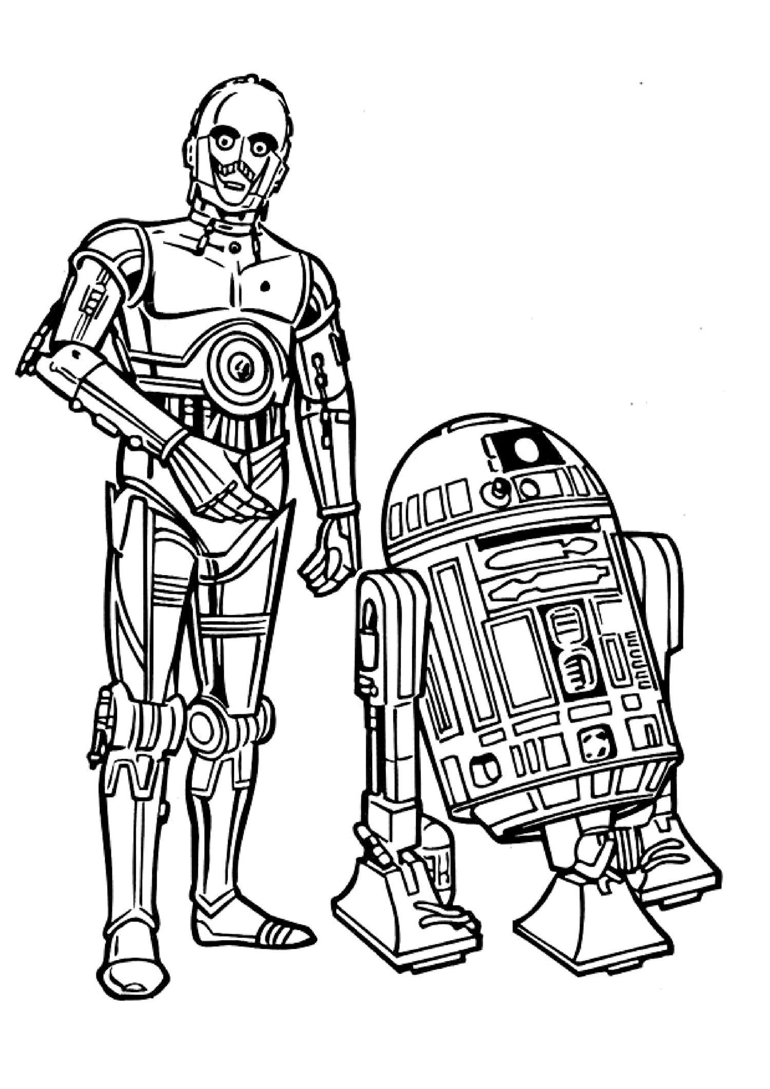 Star Wars 7 Coloring Pages   Free download on ClipArtMag