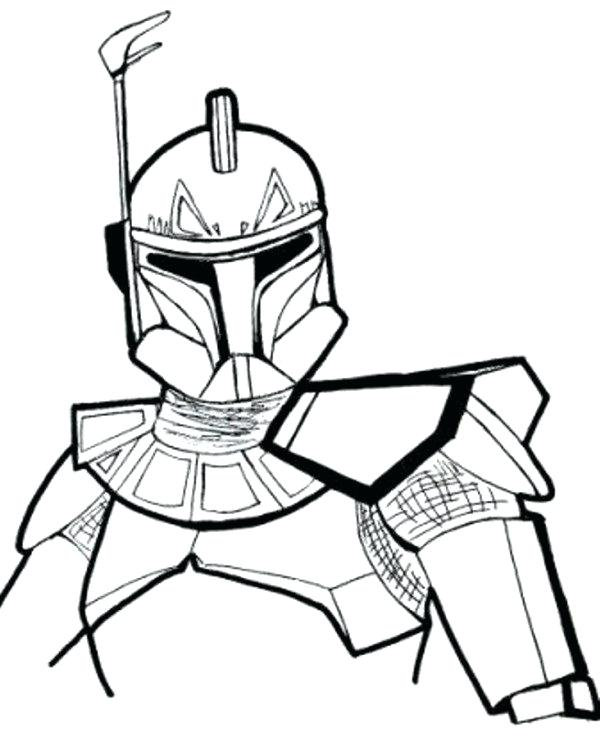 600x732 Star Wars Coloring Pages For Adults Kids 7 Com