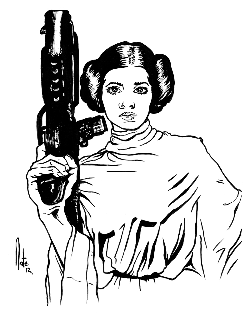 800x1009 Star Wars Leia Coloring Pages Download And Print For Free
