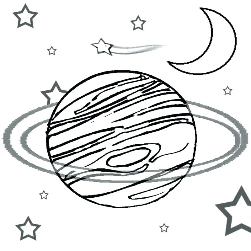 800x800 Outer Space Coloring Pages